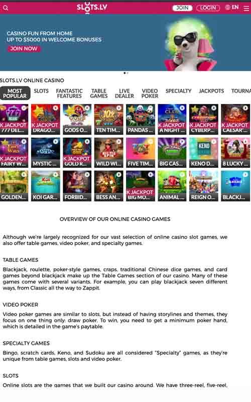 Slots LV screenshot